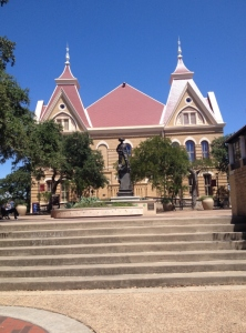 This is my favorite building here at Texas State for sure, and I am lucky enough to have a class in it!
